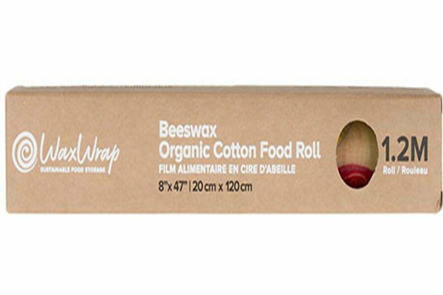 WaxWrap | Beeswax Organic Cotton Food Roll 1.2m