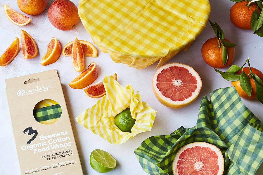 WaxWrap | Beeswax Organic Cotton Food Wraps