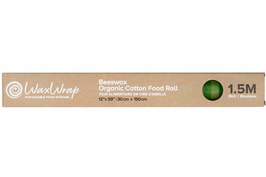 WaxWrap | Beeswax Organic Cotton Food Roll 1.5m