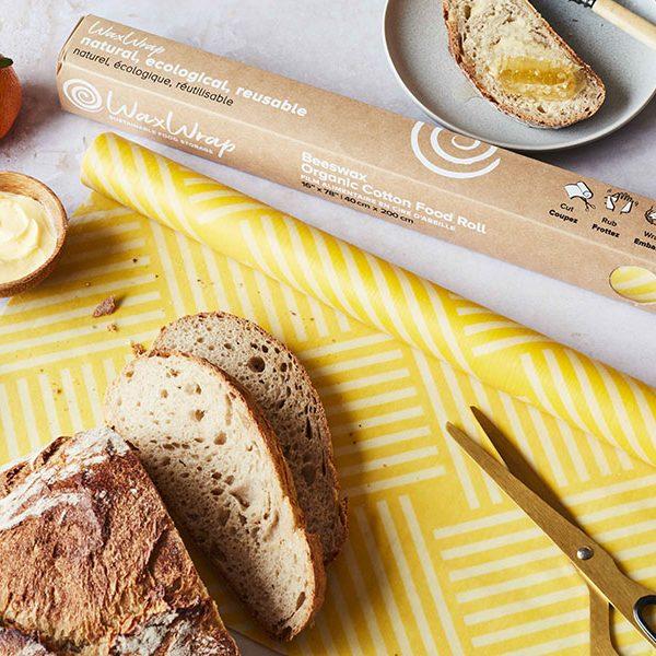 WaxWrap | Beeswax Organic Cotton Food Roll 2.0